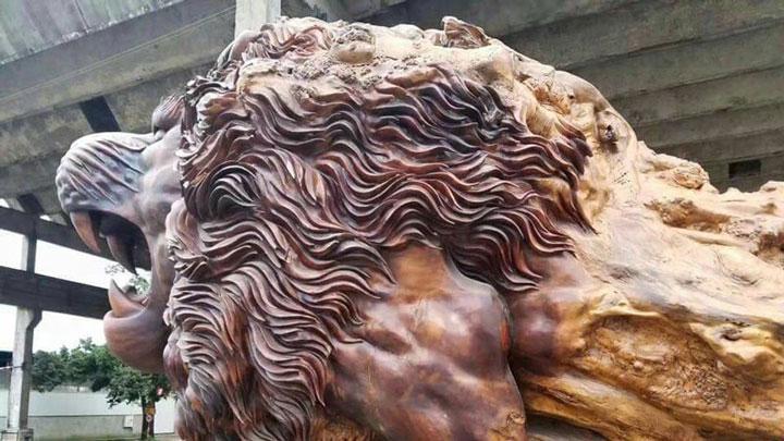 La scultura più grande del mondo: Oriental Lion