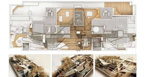 Matteo Cainer Architects - Forêt Urbaine (Parigi)