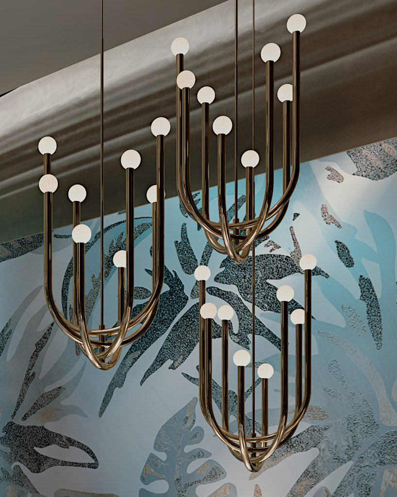 chandelier Pois design lifestyle 1