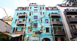 palazzo che suona con la pioggia design lifestyle